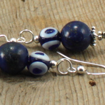 Monaco Blue Lapis Lazuli Earrings