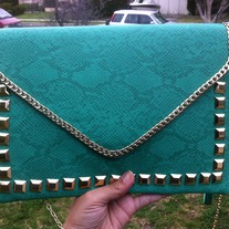 Green Clutch/Purse