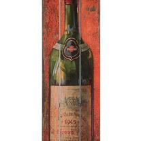Wine Bottle Wall Plaque - La Bottes