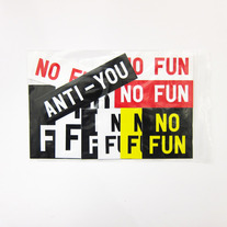 No Fun SUPER sticker pack