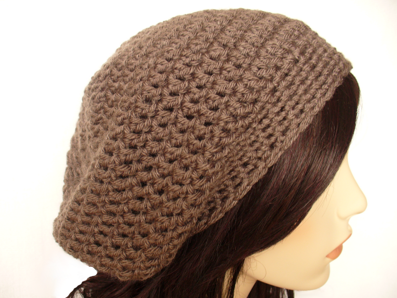 How To Crochet A Beanie : How To Crochet A Slouchy Hat