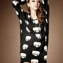 Vestido Calaveras / Skulls Dress 2WH078