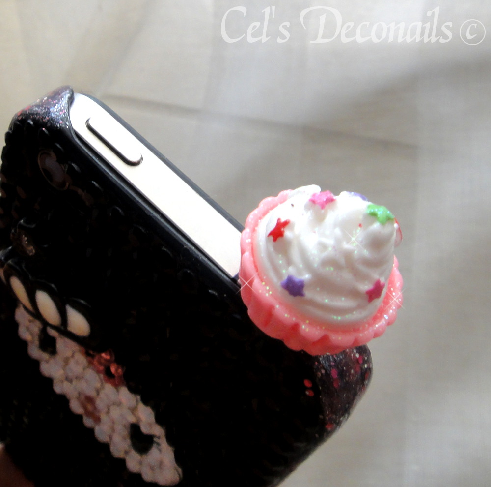 Plug Accessories For Iphone Cupcake Iphone Dust Plug