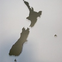 Objectify NZ Map Mirror Set