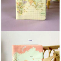 Sweet journey travel world map passport cover case credit card sweet journey travel world map passport cover case credit card holder travel wallet document organizer happy gumiabroncs Image collections