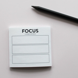 GSD FOCUS STICKY NOTES (3 PACK)