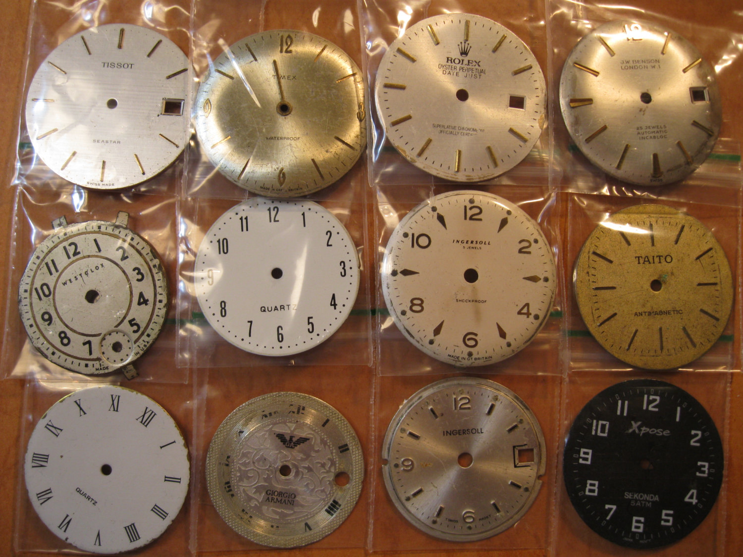 12 vintage wrist watch dials 27mm to 29mm steampunk for Steampunk arts and crafts