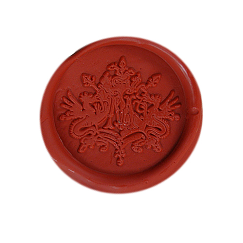 DIY Vintage Harry Potter Draco Malfoy School Badge Wax Seal Stamp Sticks Sticker Candle Melting