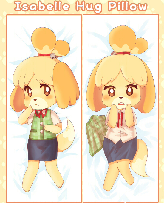 Apparently someone is selling Isabelle pillow covers : AnimalCrossing