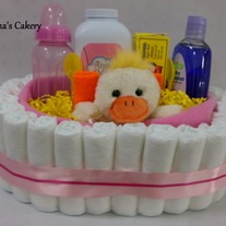 Duckie Diaper Basket