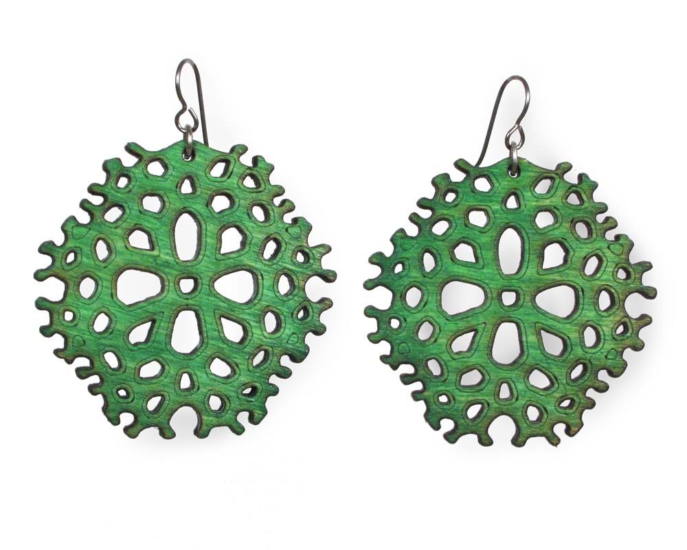 how to make laser cut wood jewelry