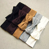 Neutral Bow Headband- BUY 2 GET 1 FREE