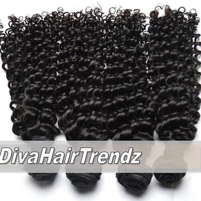 "14"", 16"" & 18"" brazilian remy exotic deep curly hair [3 bundles]"