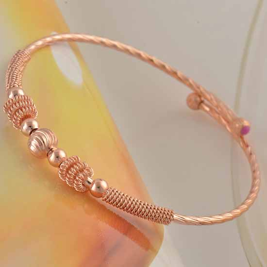Rose Gold Bangle For Children Gold Jewelry Gold Jewelry Online Shop