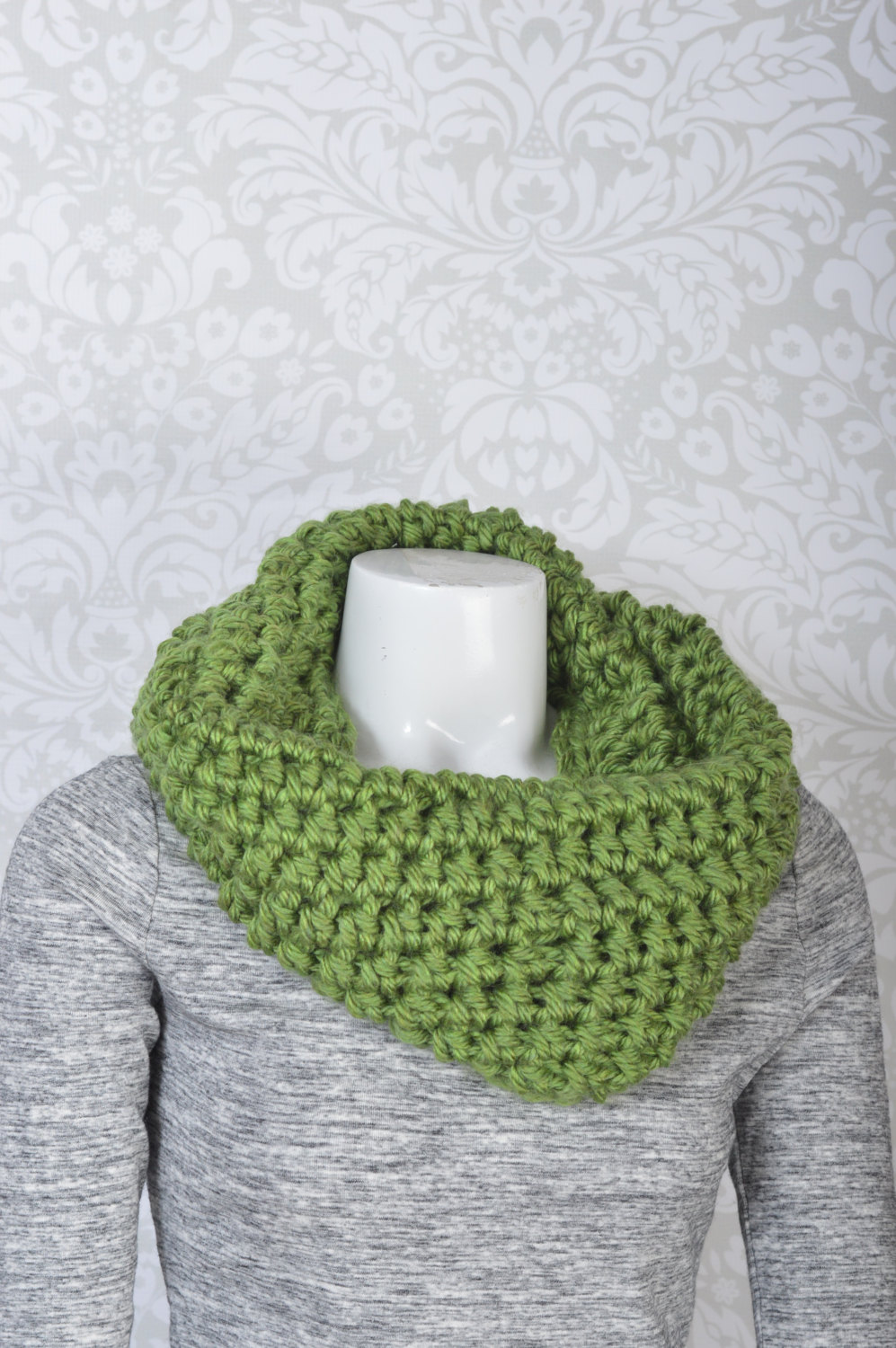 2-Way Cowl Snood Green · PiperAndStone · Online Store Powered by ...