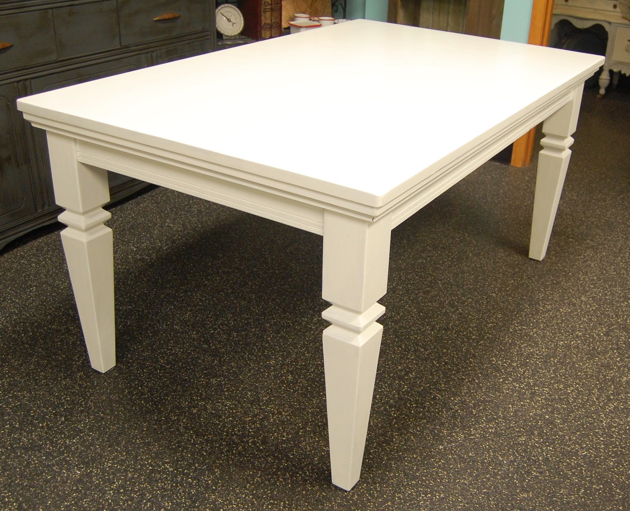 long white dining table aeon furniture vila white high