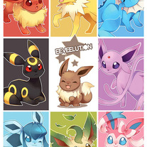 New Eeveelutions poster
