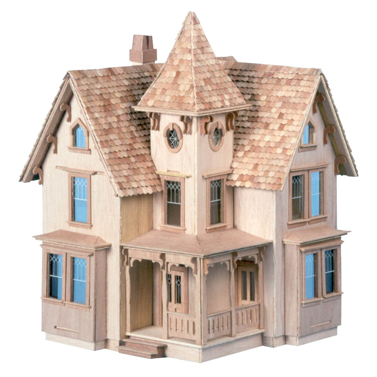 Skarla 39 s variety shop deals 1 24 scale victorian for How to build a victorian house