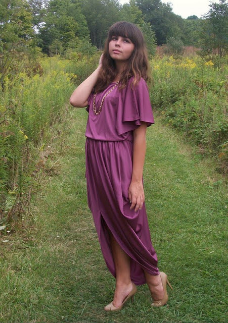 Goddess in Disguise Dress.