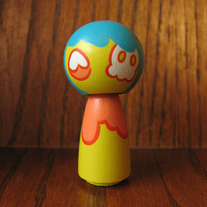 Kokeshi Doll #60 Walking Dead