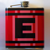 Red E-Flask (6 oz)