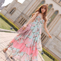 Vestido Largo Kawaii / Kawaii Long Dress 2WH194