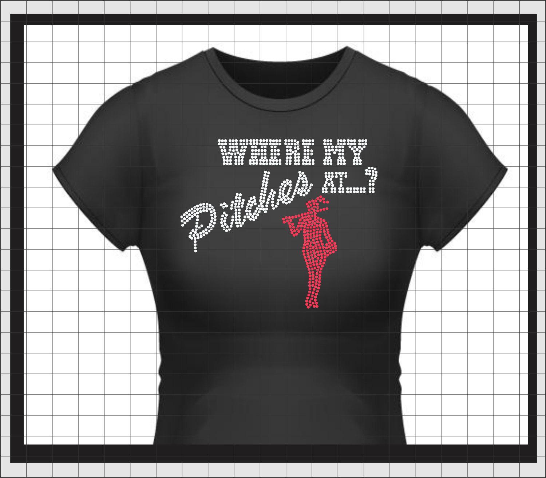 Fastpitch softball rhinestone t shirt custom team where my for Custom t shirts for teams