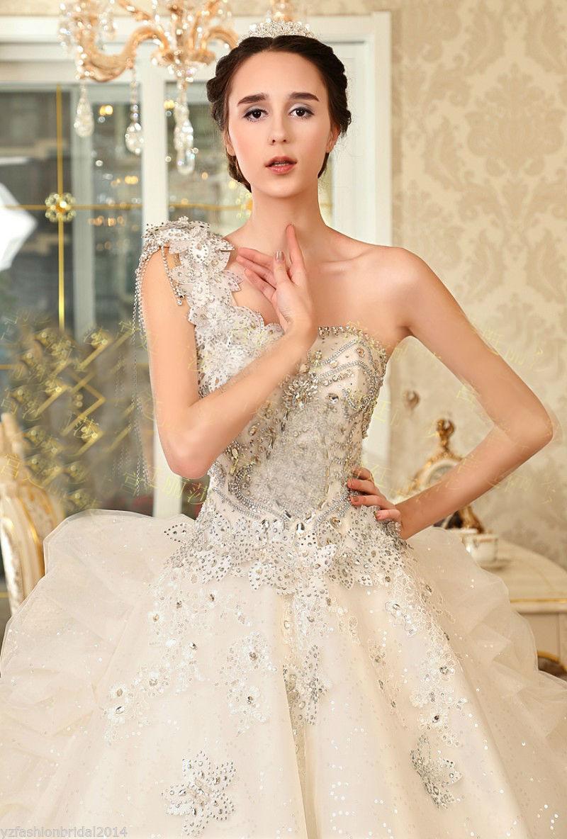 yz beads crystal sexy diamond wedding dresses nmvx diamond wedding dresses YZ Beads Crystal Sexy Diamond Wedding Dresses NMVX