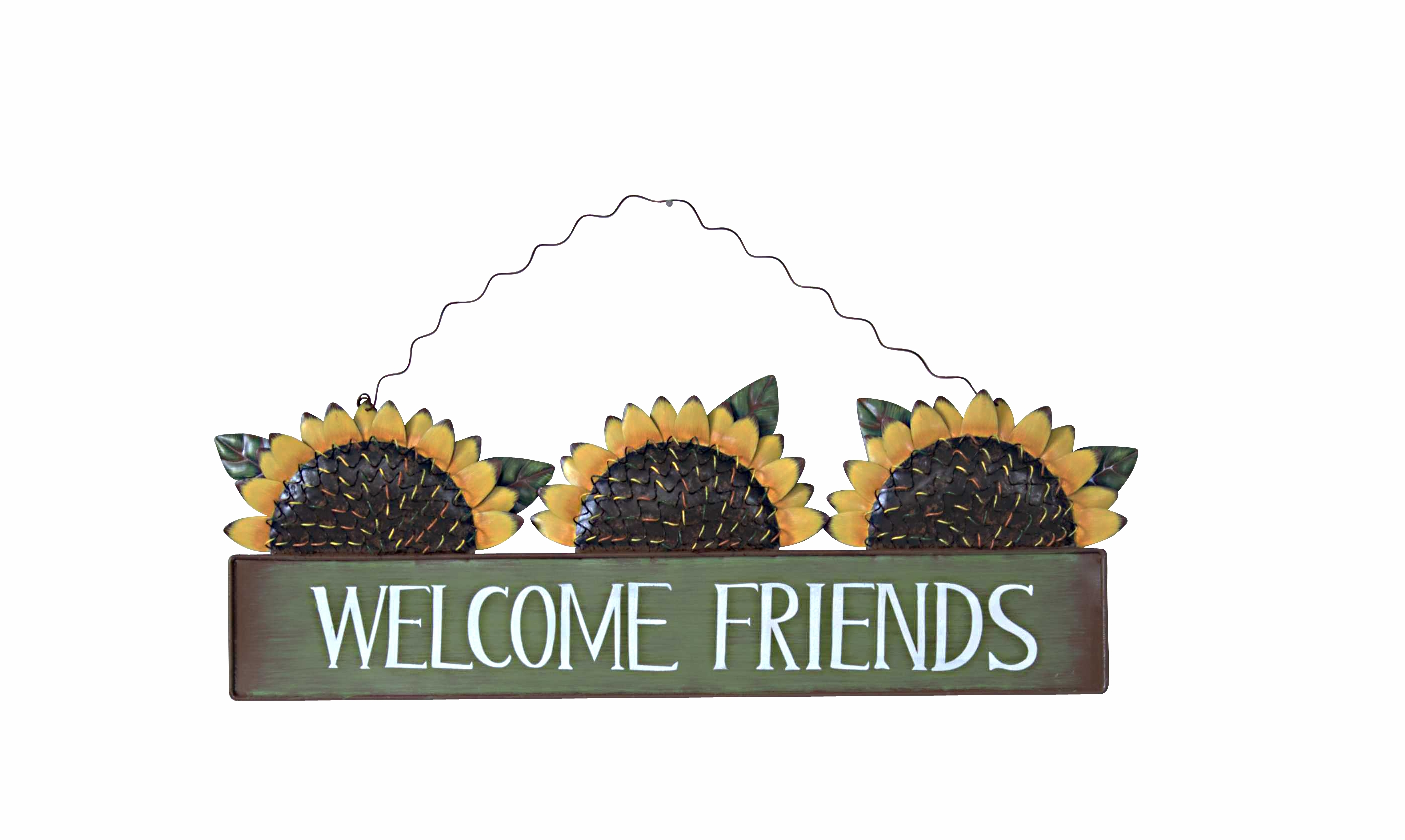 Annie Design Sunflower Welcome Sign Online Store