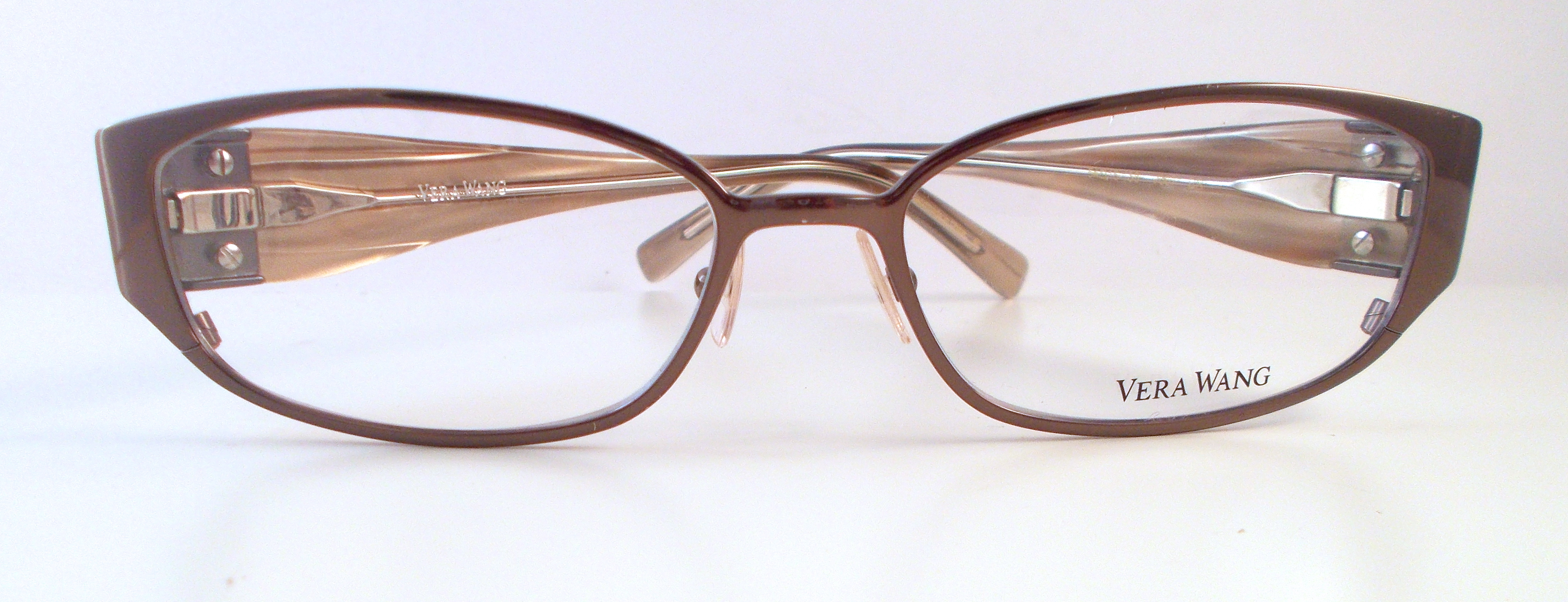 H&S Optical | Vera Wang V067 Eyewear Brown | Online Store Powered by ...