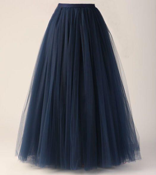 Net Long Skirt Online Jill Dress