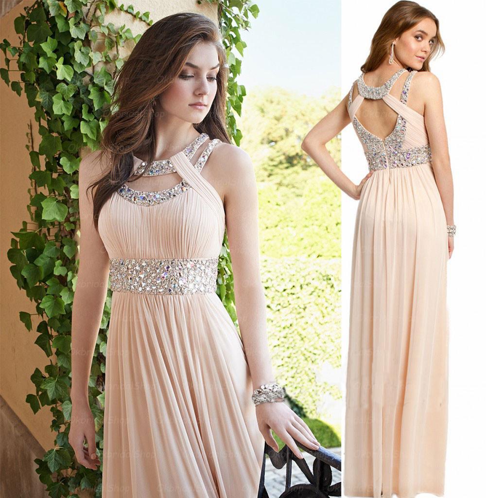 long prom dress champagne prom dress chiffon prom dress cheap prom dresses party prom dress. Black Bedroom Furniture Sets. Home Design Ideas