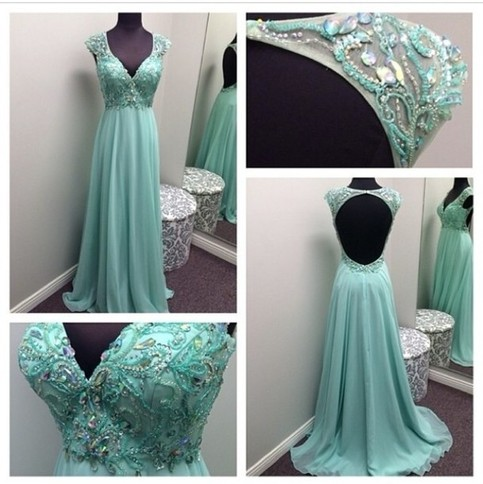 blue prom dress, long prom dress, cheap prom dress, 2018 prom dress ...
