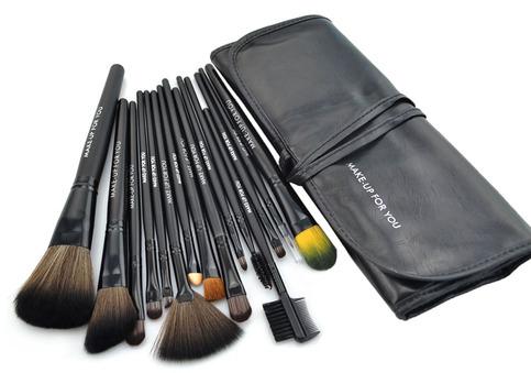 high quality 15 pcs professioal makeup brush set with