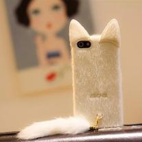 IPHONE 4 & 5 FLUFFY CAT CASE