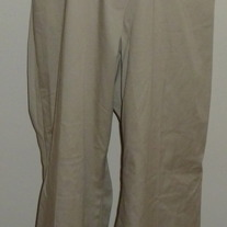 Khaki Dress Pants-Motherhood Maternity Size 1X  04076