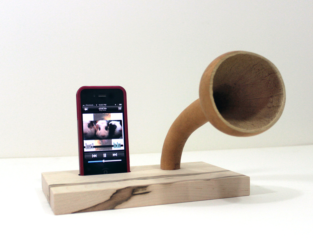 Idockit The Gourd A Phone Ihorn Iphone Acoustic