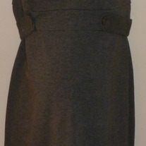 Gray Sleeveless Dress-Liz Lange Maternity Size Small
