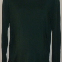 Dark Long Sleeve Shirt-Gap Maternity Size Large