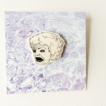 Rose Nylund Illustrated Pin  medium photo