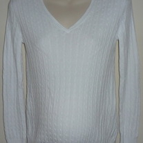 White Sweater-Motherhood Maternity Size Small