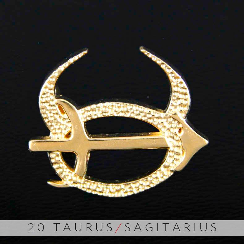 unity design concepts 20 taurus and sagittarius gold