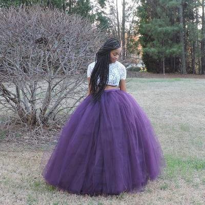 Tulle princess skirt
