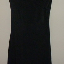 Black Short Sleeve Dress-Liz Lange Maternity Size XS  SF0413