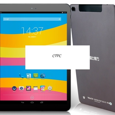 "Cube talk 9x u65gt 3g 9.7"" capacitive retina touch 2046x1538 android 4.4.2 octa core mtk8392 2.0ghz 3g tablet pc phablet"