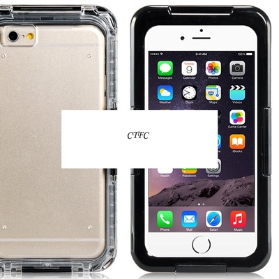 "I-101 ip-68 waterproof crystal case for 4.7"" iphone 6 (black)"