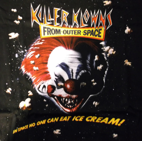 Killer klowns from outer space t shirt ascension x for Return of the killer klowns from outer space