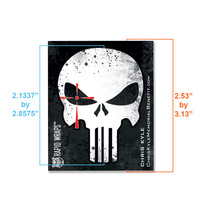 Chris Kyle Punisher Sticker  - Single Die Cut Sticker medium photo