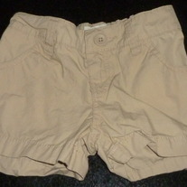 Khaki Shorts-Old Navy Size 5