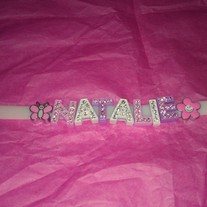 Bling Name Bracelets (Little Diva Collection)